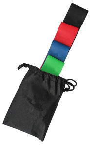 Resistance Loop Bands for Legs: Extra Wide Exercise Bands - Set of 5 pictures & photos