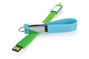 Engrave Wrist Band 2GB USB Thumb Drive U Disk Gift pictures & photos