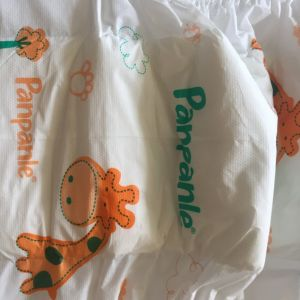 Cheap Price Colored Backsheet PP Tapes Baby Diaper From China pictures & photos