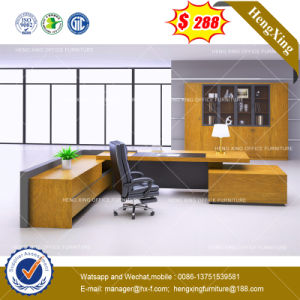 Modern Melamine Furniture Executive Table Manager Office Desk (HX-8NE021C) pictures & photos