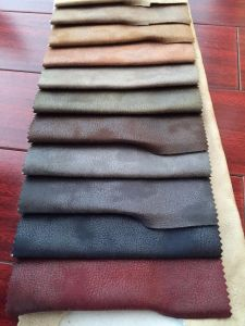 2016 New Product 100% Polyester Synthetic Suede Fabric pictures & photos