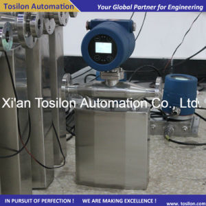 Micro-Flow Coriolis Mass Flowmeter for Liquid & Gas Catalyst (Oil) pictures & photos