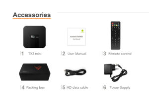 Tx3 Mini S905W Android TV Box pictures & photos