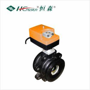 Motorized Ball Valve Dqf-E/Electric Ball Valve/HVAC Control pictures & photos