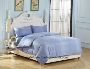 Latest Design Jacquard Egyptian Cotton Bed Linen Home Comforter Set pictures & photos