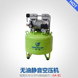 Medical Noiseless Oil-Free Dental Air Compressor Motor 800W pictures & photos