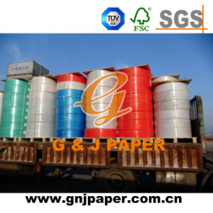 Virgin Pulp Coated Carbonless Jumbo Roll Paper with Cheap Price pictures & photos