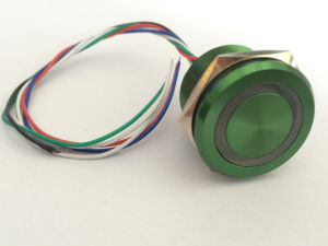 19mm Colorful Push Button Micro Switch pictures & photos