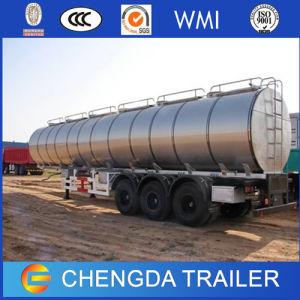 Triple Axles 40000L 3 Compartment Fuel Tank Semi Trailer pictures & photos