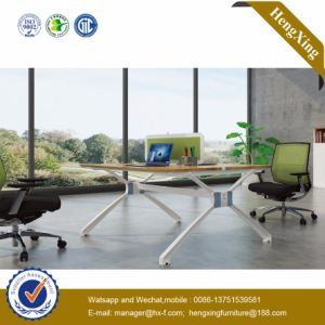 Aluminum Glass Partition Wall Cluster Staff Workstation Office Furniture (UL-NM103) pictures & photos