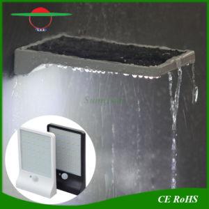 High Brightness 36LEDs Motion Sensor Solar Wall Light for Garden pictures & photos