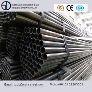 Q195 Ss330 Carbon Round Black Annealed Steel Pipe pictures & photos