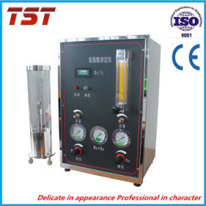 Material Oxygen Index Tester Machine pictures & photos