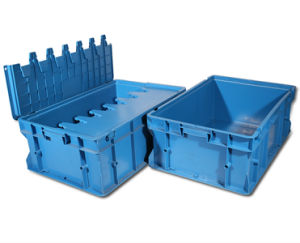 Nesting Container with Lid, Plastic Stack Container (PK-D2) pictures & photos