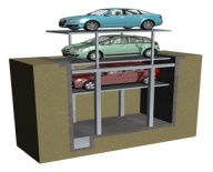 New Pit Lifting Car Parking System