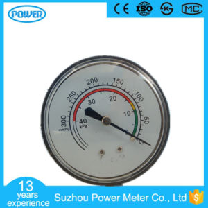 60mm High Quality Chrome Plated Bellows Pressure Gauge pictures & photos