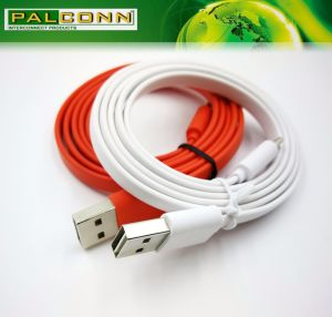 Type C Cable, Flat Line, Load Current: 3A, Support Quick Charge, Cable Color~ Red pictures & photos