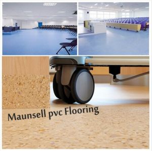 Maunsell Top Quality Commercial Flooring for Indoor House in Roll pictures & photos
