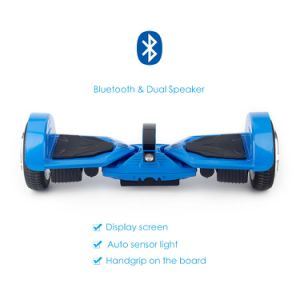 USA/Europe Warehouse Available Self Balancing Electric Scooter 2 Wheel Hoverboard UL2272 with Bluetooth Speaker pictures & photos