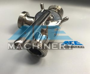 Food Grade Manual Plug Valve (ACE-XSF-6V) pictures & photos
