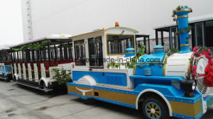 Chinese Popular and Hot Diesel Trackless Tourist Train pictures & photos