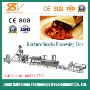 Ce Standard Full Automatic Corn Snacks Kurkure Making Machinery pictures & photos