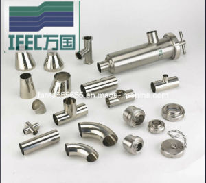 Sanitary Stainless Steel Pipe Fittings (IFEC-PF100012) pictures & photos