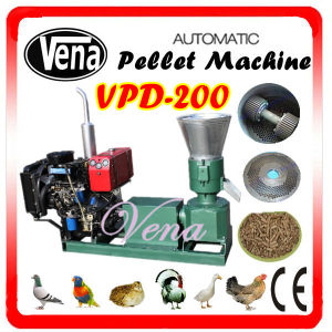 Professional Small Animal Feed Pellet Mill for Chickens Vpd-200 pictures & photos