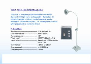 High Quality Operating Lamp (YD01-1SE) pictures & photos