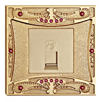 Gold Plated High Quality Forged Brass Power Wall Switch pictures & photos