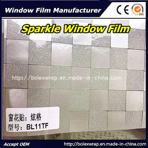 Decorative Sparkle Window Film Glass Window Film Box Design Window Film 1.22m*50m pictures & photos