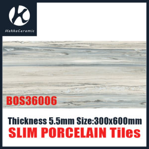 Super Thin thickness 5.5mm Slim porcelain Bathroom Tile Bos36006 pictures & photos