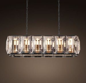 Rectangle Square Crystal Chandelier (WHG-881) pictures & photos