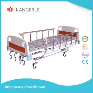 ISO CE Four Crank Hospital Bed. Adjustable Bed. China Supplier