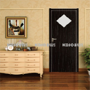 Builing Material WPC Interior Fire-Resistant PVC Foamed Door (KMB-13) pictures & photos