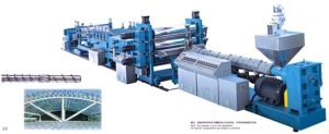 PC\PP\PE\PET Single Screw Corrugated Sheet Extrusion Machine pictures & photos