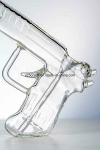 Clear Gun Bubbler Gun Glass Smoking Pipe pictures & photos