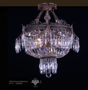 Imported Egypt Crystal Light Ceiling Light