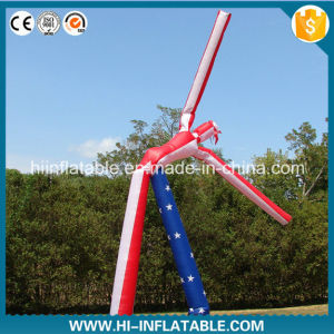 Custom Double Legs Inflatable Air Dancers with Blower pictures & photos