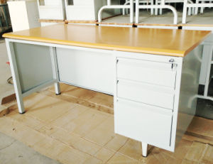 Latest Designs New Product Iron Desk Steel Office Table Specifications pictures & photos
