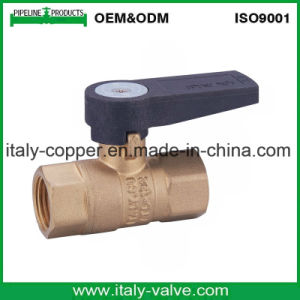Guarantee Quality Brass Water Ball Valve with Level Handle (AV-BV-2032) pictures & photos