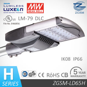 IP66 Module Designed 65 Watts Solar LED Street Light with UL Dlc Optical Sensor pictures & photos