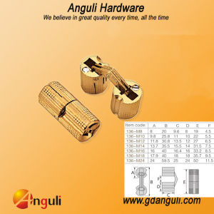 Good Quantity Hinge Copper Concealed Hinge pictures & photos