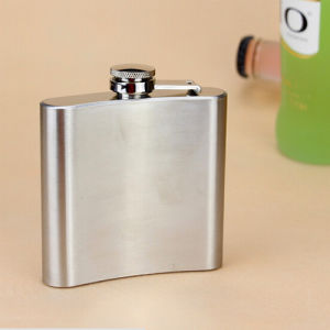 Stainless Steel Hip Flask in 7 Ounce pictures & photos