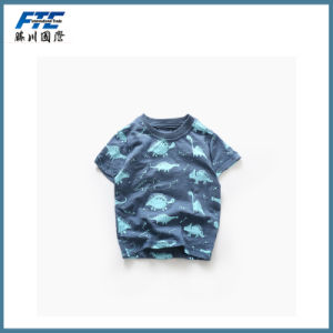 Four Kinds Children′s Printing T-Shirt with High Quality pictures & photos