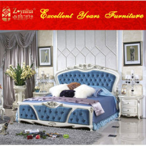 French Style High End Antique Bed (wtj-05)