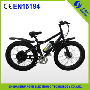 Lithium Battery Powered Snow Electrica Bike Bicycle pictures & photos