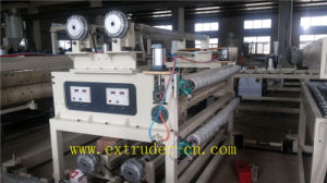 More Advanced Wood Plastic Sheet/Hollow Sheet Production Line pictures & photos