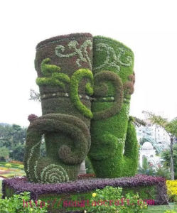 Outdoor Evergreen Ornamental Artificial Topiary Plant pictures & photos