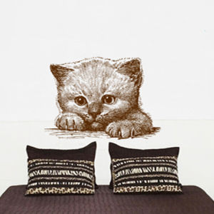 Cat Wall Sticker (TP-076)